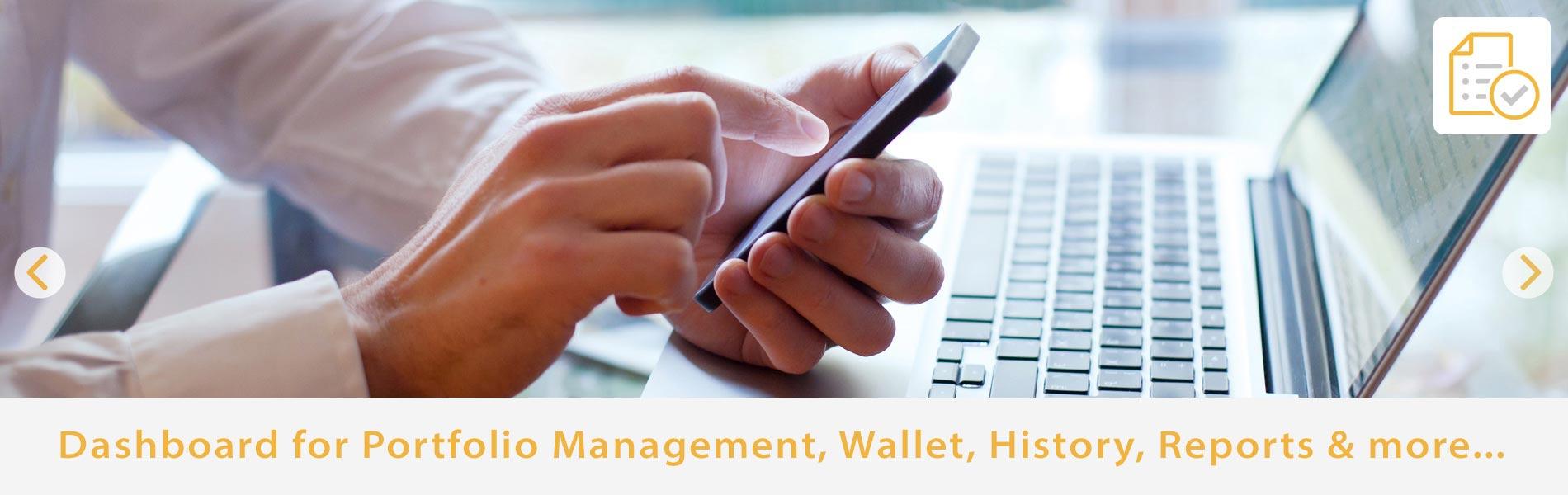 Central Bullion Dashboard for Portfolio Management